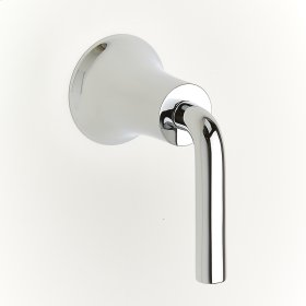 Polished Chrome River (Series 17) Volume Control and Diverters