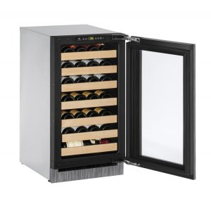 U-Line2000 Series 45 Cm Wine Cellar With Integrated Frame Finish and Field Reversible Door Swing (220-240 Volts / 50 Hz)