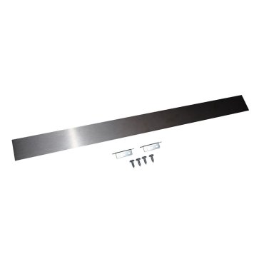 Slide-In Range Rear Gap Filler - Stainless Steel