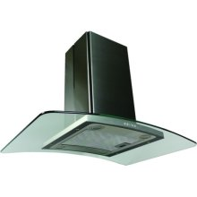 Contemporary Series Island Hood with 600 CFM