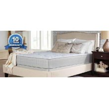 Crystal Cove II Plush White Queen Mattress