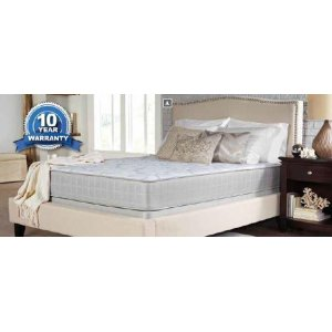 CoasterCrystal Cove II Plush White Queen Mattress