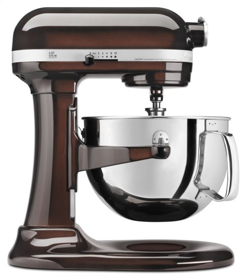 Pro 600 Series 6 Quart Bowl-Lift Stand Mixer - Espresso