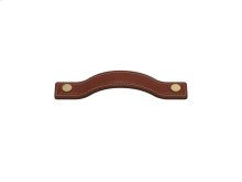 Button Bow 160 In Chestnut And Polished Brass