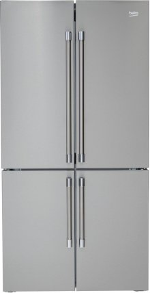 "36"" French 4-Door Freestanding Refrigerator"