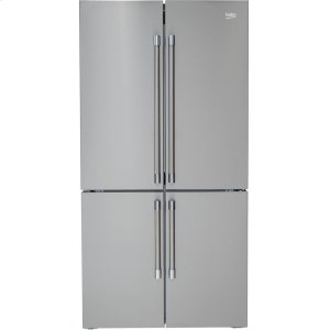"Beko36"" French 4-Door Freestanding Refrigerator"