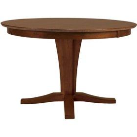 Milano Pedestal Table Espresso