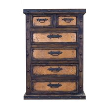 Finca Chest W/Copper Drawers