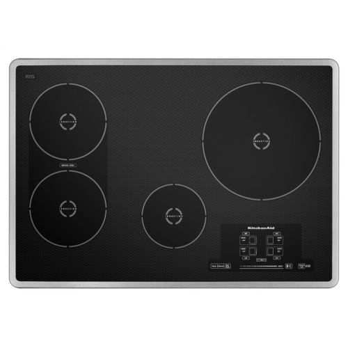 30-Inch 4 Element Induction Cooktop, Architect® Series II - Stainless Steel
