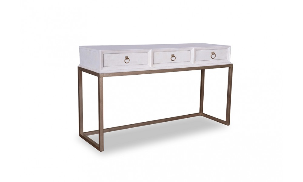 Cosmopolitan ebony console table