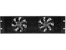 Black 3U Ultra Quiet Fan SANUS EcoSystem accessory
