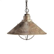 Seaside Collection Seaside 1 Light Outdoor Pendant OB