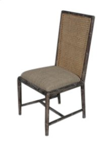 Bamboo Rattan Side Chair