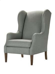 High Back Chair with Cherry finish