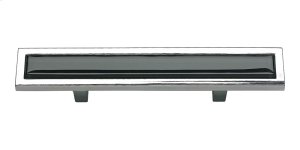 Spa Black Pull 3 Inch (c-c) - Polished Chrome Product Image