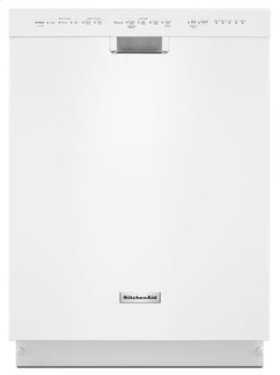24'' 6-Cycle/5-Option Dishwasher, Pocket Handle - White