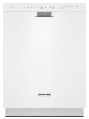 24'' 6-Cycle/5-Option Dishwasher, Pocket Handle - White