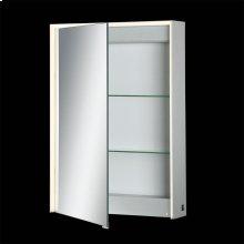 SINGLE DOOR LED MIRROR CABINET - Mirror