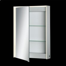 SINGLE DOOR LED MIRROR CABINET - Mirror