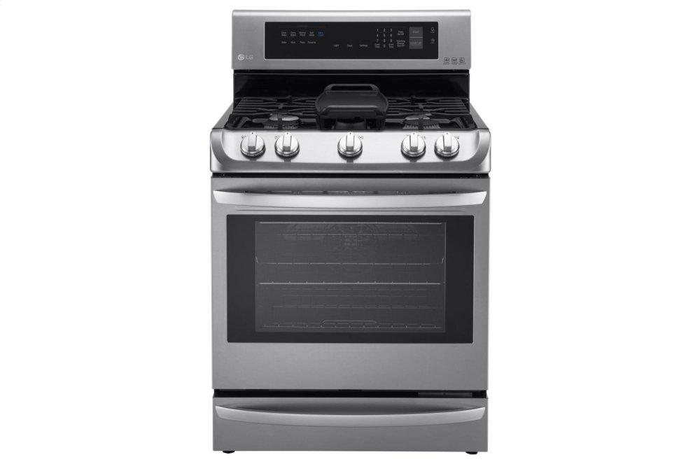 6.3 cu. ft. Gas Single Oven Range with ProBake Convection(R), EasyClean(R) and Warming Drawer