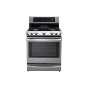 LG Appliances6.3 cu. ft. Gas Single Oven Range with ProBake Convection®, EasyClean® and Warming Drawer