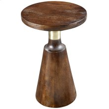 Aron Accent Table in Walnut