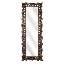 Kaleem Carved Wood Mirror