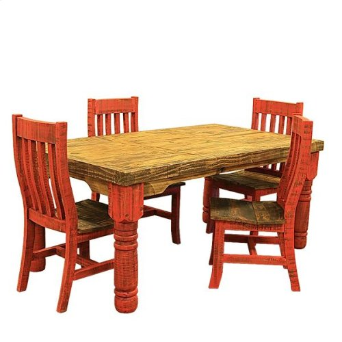 6' Red Table