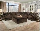 1600 - Ultimate Chocolate Sectional Product Image