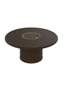 """Banchetto 54"""" Round Fire Pit, Manual Ignition"""