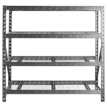 "77"" Wide Heavy Duty Rack with Four 24"" Deep Shelves"