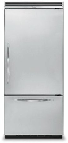 "36"" Bottom-Mount Refrigerator/Freezer - DDBB (36"" wide, Left-hinge)"