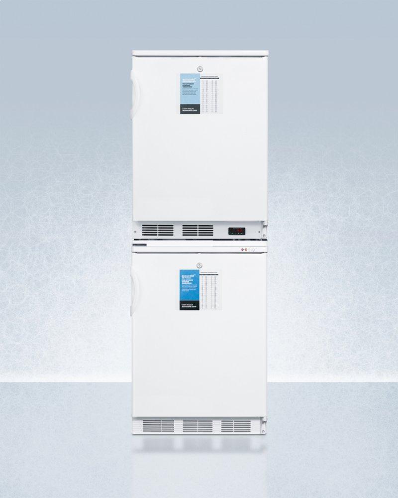 15 cu. Ft. Standard manual defrost laboratory chest freezer.