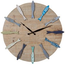 Fish Wall Clock.