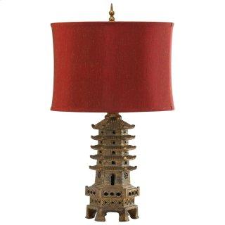 Pagoda Table Lamp