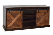 "Famhouse Farmhouse 56"" Two-Tone Console"