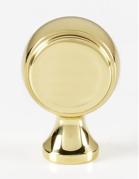 Royale Knob A980 - Polished Brass