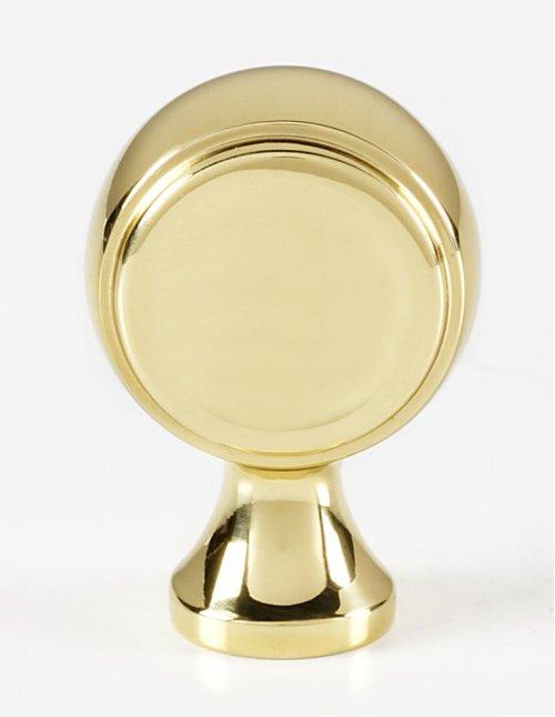 Royale Knob A980 - Polished Brass