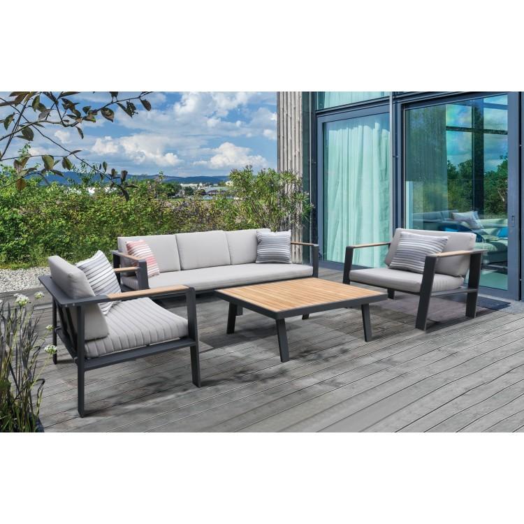 nofi 4 piece outdoor patio set rh samsbbp com 4 Piece Sofa Set Outdoor Round Patio Furniture Sets