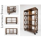 """Loftworks 36"""" Trolley Cart Product Image"""
