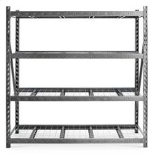 "90"" x 90"" Heavy Duty Mega Rack with Four Adjustable Shelves"