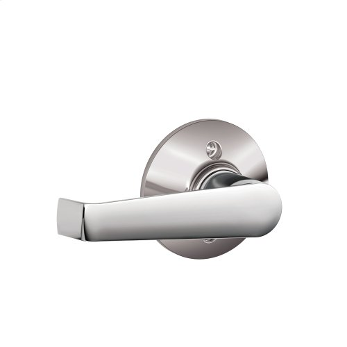 Elan Lever Non-turning Lock - Bright Chrome