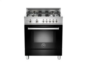 Black 30 4-Burner, Electric Self Clean Oven