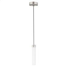 DXV Modulus LED Pendant Light - Brushed Nickel