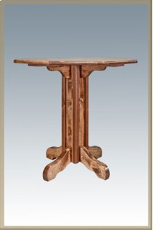 Homestead Pub Table - Stained and Lacquered