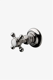 Julia Volume Control Valve Trim with Metal Cross Handle STYLE: JUVC34