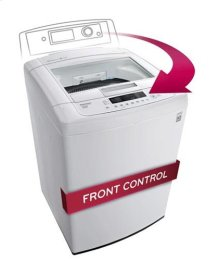 4.1 cu. ft. Large Capacity Top Load Washer with Sleek Easy Front Control Panel