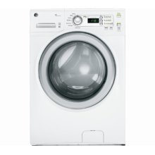 Energy Star 4.2 IEC, 3.6 DOE cu.ft. capacity stainless steel drum frontload washer