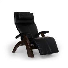 "Perfect Chair PC-LiVE "" - Black Premium Leather - Dark Walnut"