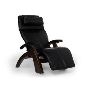 Perfect Chair PC-LiVE™ - Black Premium Leather - Dark Walnut